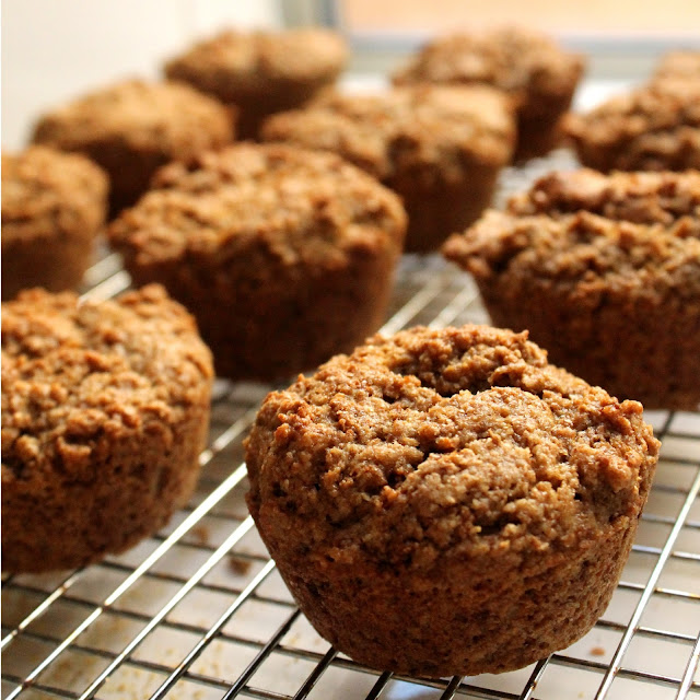 Bran muffins that actually taste good! These muffins are made with coconut oil to bring extra goodness to the usually dull bran muffin.