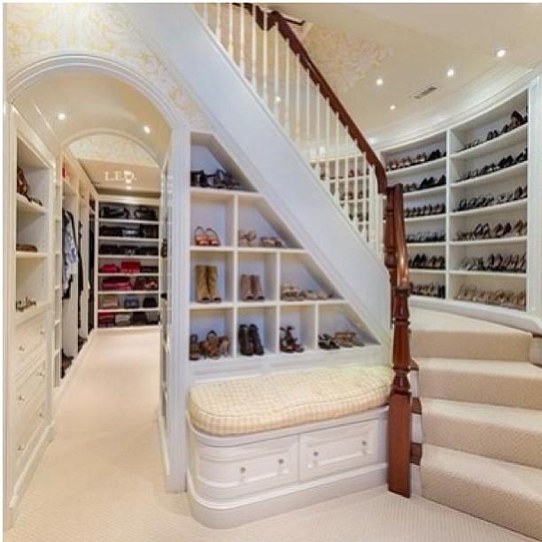 walk in closet vestidores grandes amplios armarios