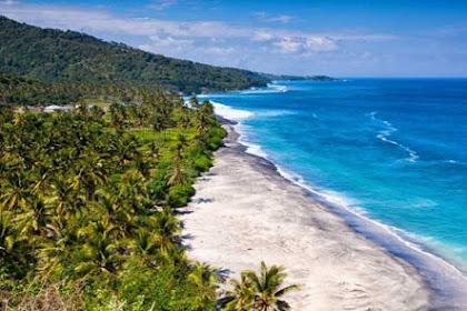 Lokasi Rute Wisata Pantai Motadikin Dan Pantai Abudenok