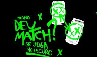 Promoção Deu Match? Se Joga No Escuro  Guaraná Antarctica Black