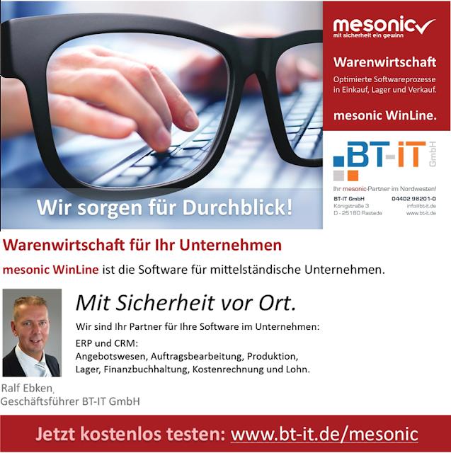 ERP - Software mit Durchblick! mesonic WinLine