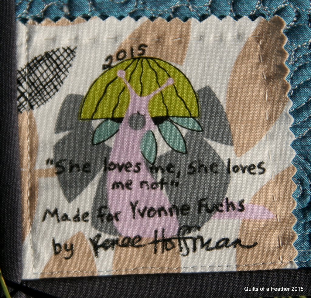 Quilts Of A Feather She Loves Me She Loves Me Not Mini