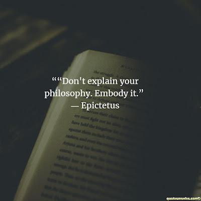 Epictetus Quote