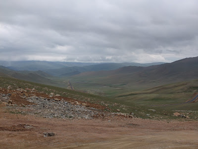 Cycling through Clouds in Central Asia: Getting Lost; Today: 70 km; Total: 4380 km