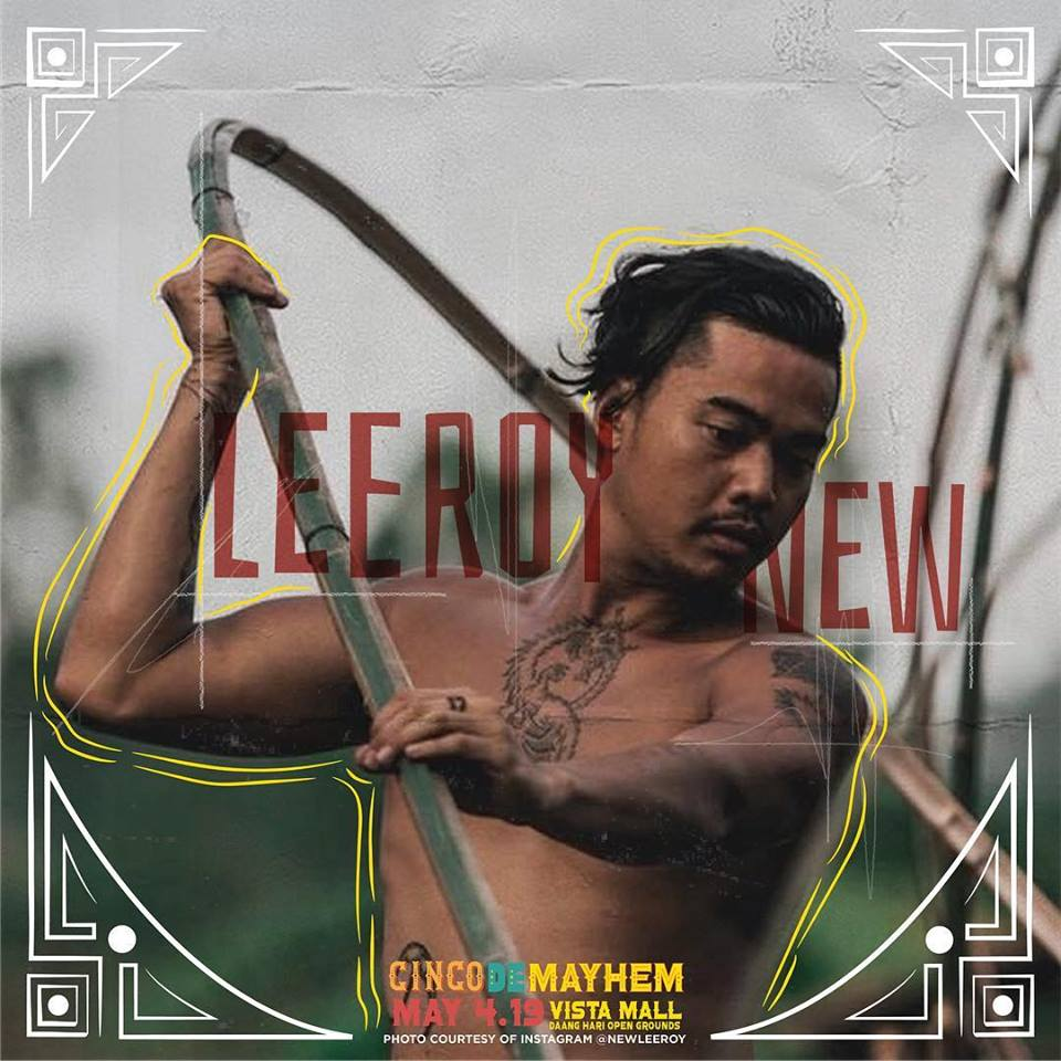Leeroy New for Cinco De Mayhem Music Festival.
