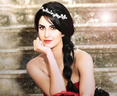 Model Rambut Panjang Katrina Kaif