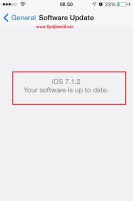 Cara  Update iOs Semua Jenis iPhone