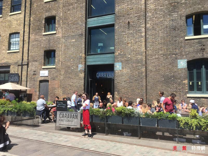 [英國] 倫敦/國王十字車站【Caravan King's Cross】享受一頓高貴不貴的英式早午餐