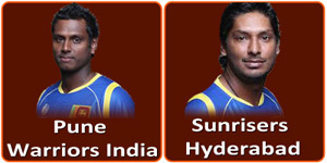 PWI Vs SRH is on 17 April 2013