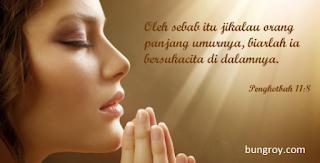 Contoh Doa Syafaat Kristen Ibadah Kaum Perempuan