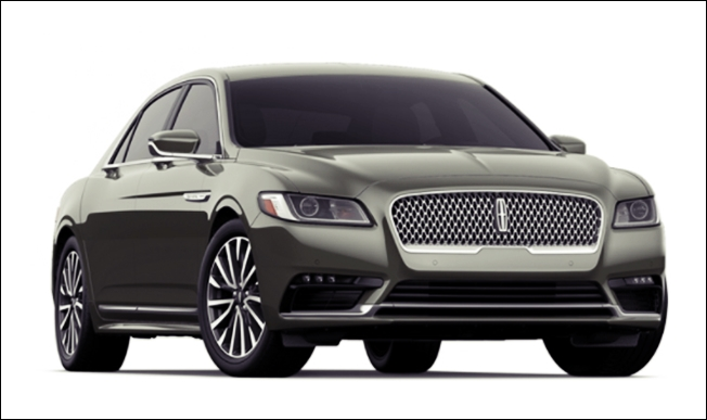 2018 Lincoln Continental Concept Photos Price Specs Msrp