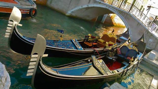 Gôndolas em Veneza