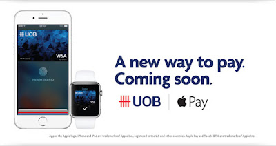 Source: UOB website. Apple Pay is coming soon.