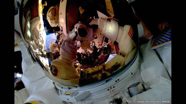 صور رائعة من رائد الفضاء الأمريكي سكوت كيلي
