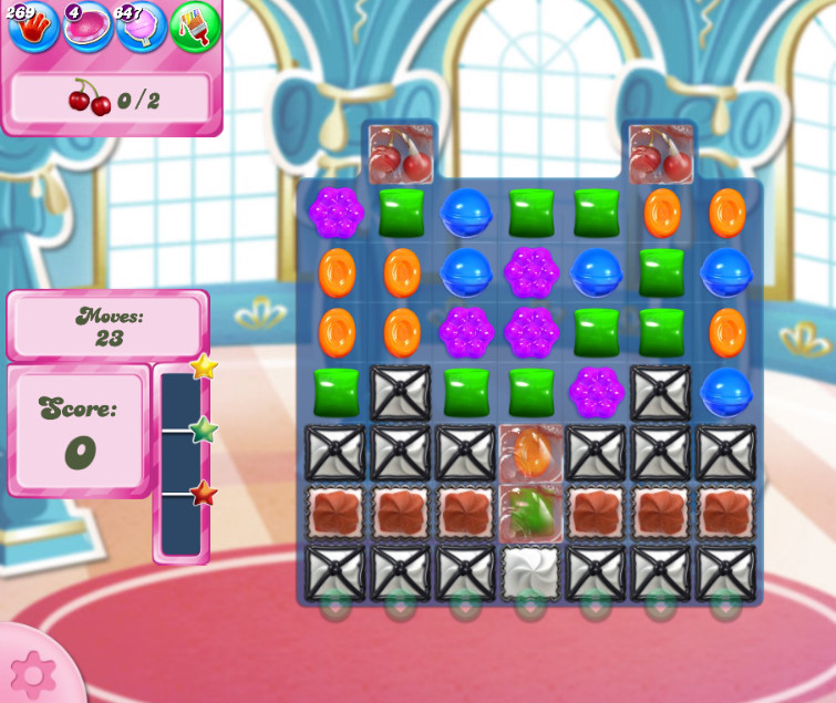 Candy Crush Saga level 2656