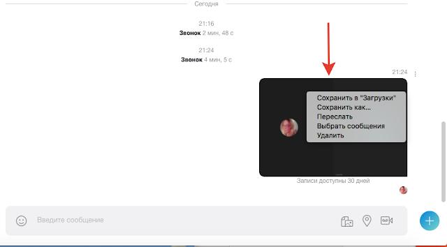 скайп уроки запись