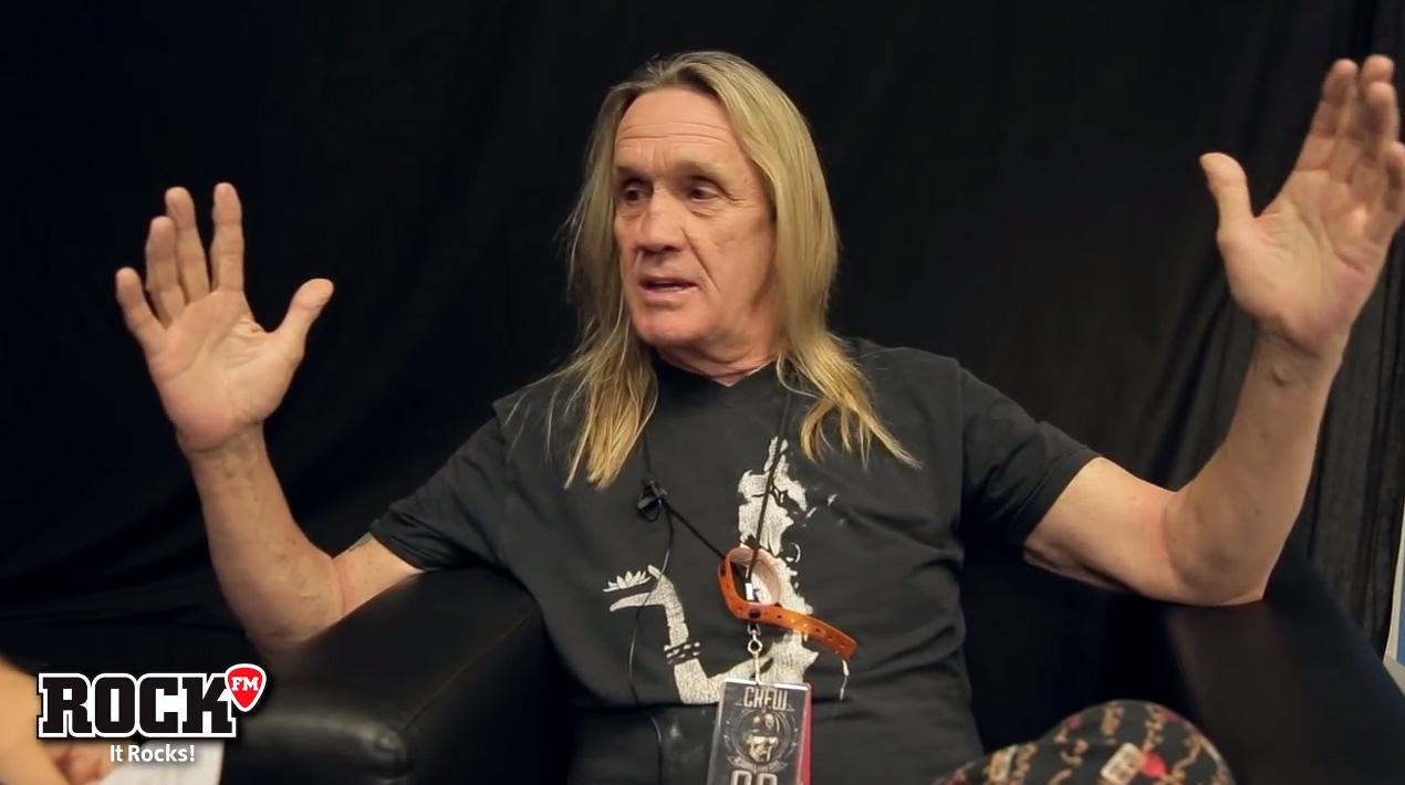 Nicko Mcbrain Iron Maiden Drums on 92 Integra Da