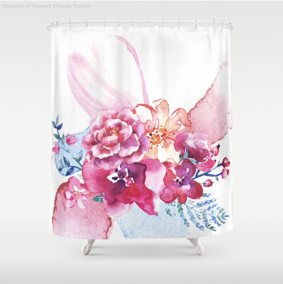 The Prettiest Floral Shower Curtain for Your Bathroom ~ Entirely ...