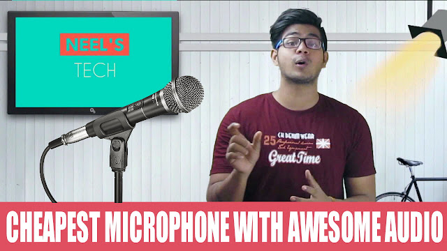Cheapest microphone you can buy for your youtube videos
