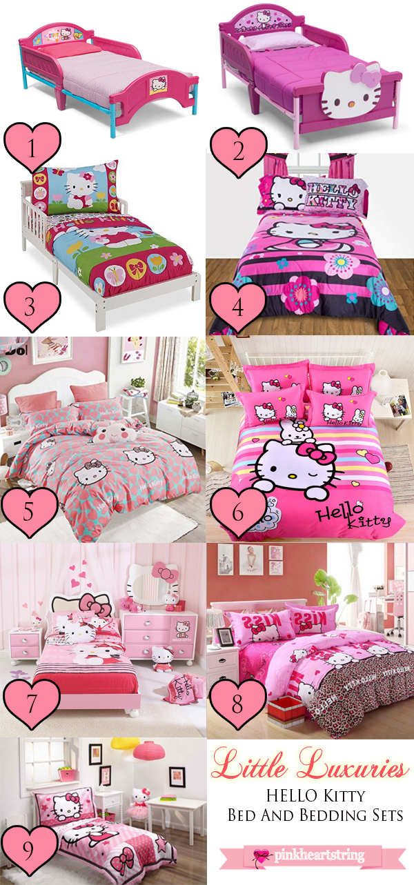 Hello Kitty Bedroom items