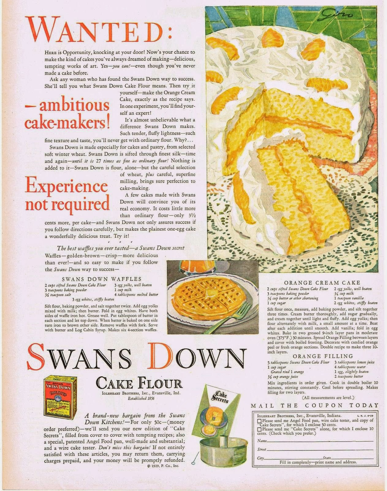 Pancake Recipe With Swans Down Cake Flour