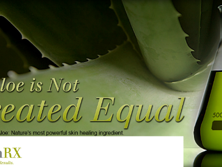 TreSkinRX :: All Aloe Is Not Created Equal
