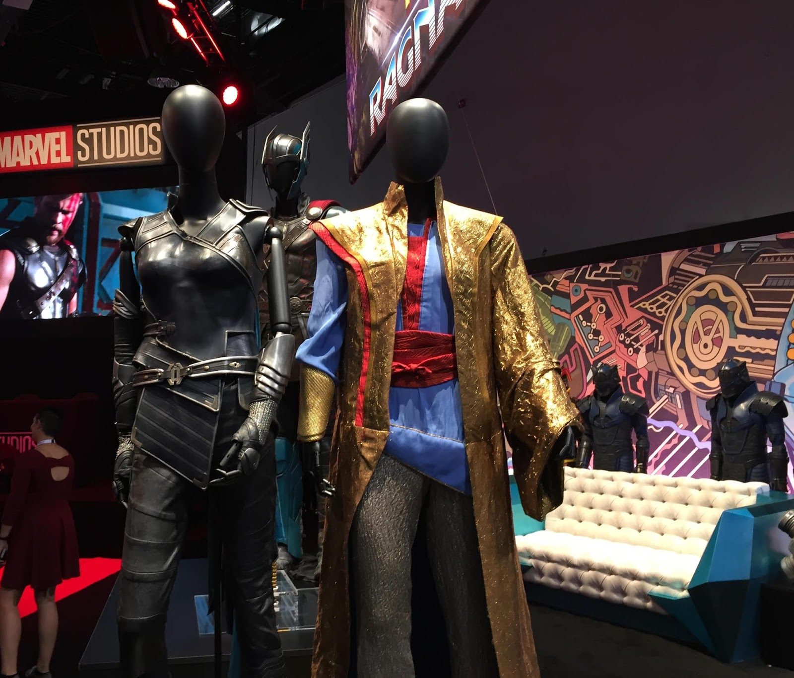 D23 Expo 2017: THOR: RAGNAROK Costume Photos