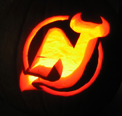 detailed look 735bf b263c The Penalty Box: Hockey Halloween. All NHL Teams carved in ...
