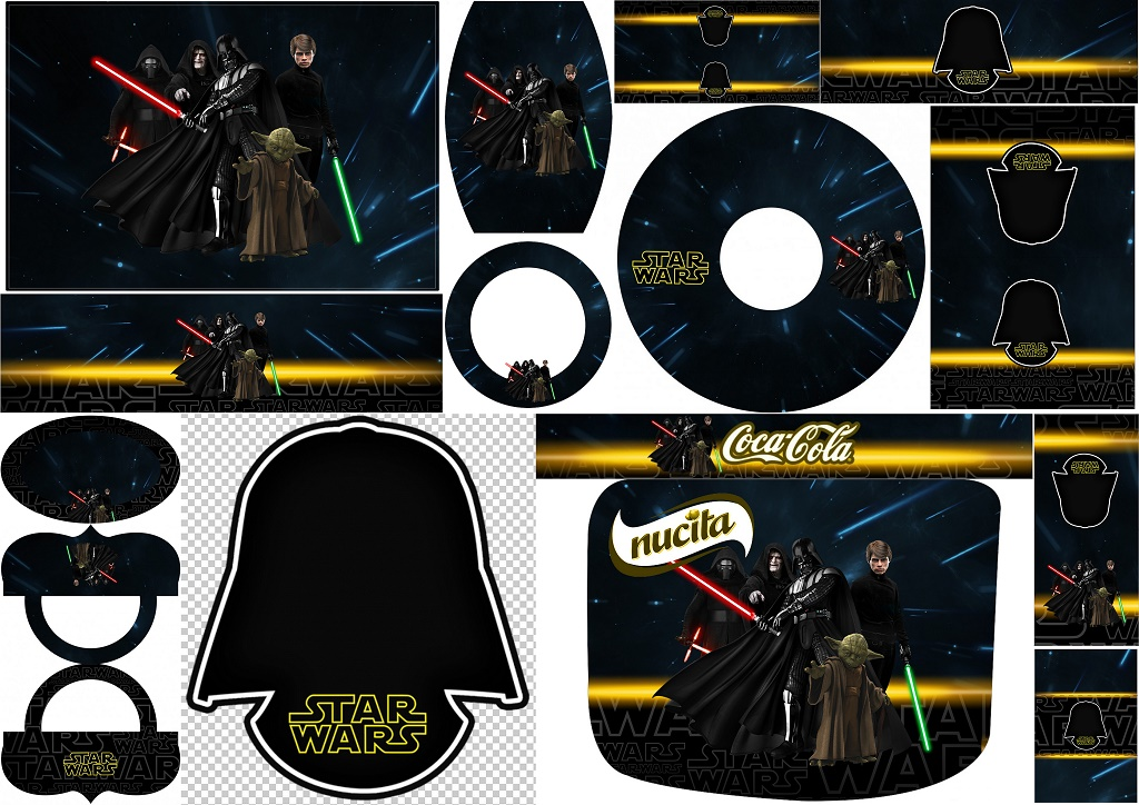 Star Wars Free Printables Candy Bar Labels Oh My