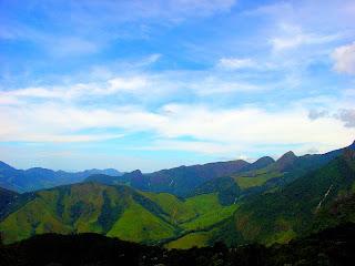 Vista de Cima do Peito do Pombo, no Sana