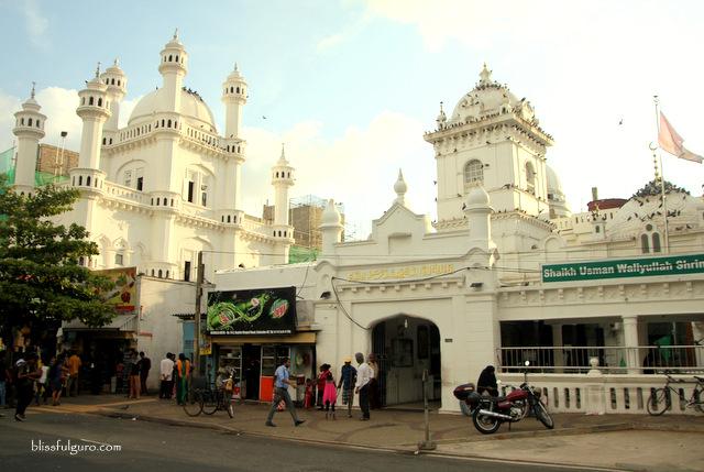 Colombo Sri Lanka Dewatagaha Mosque