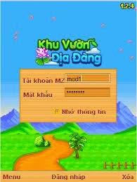 game khu vuon dia dang cho dien thoai samsung