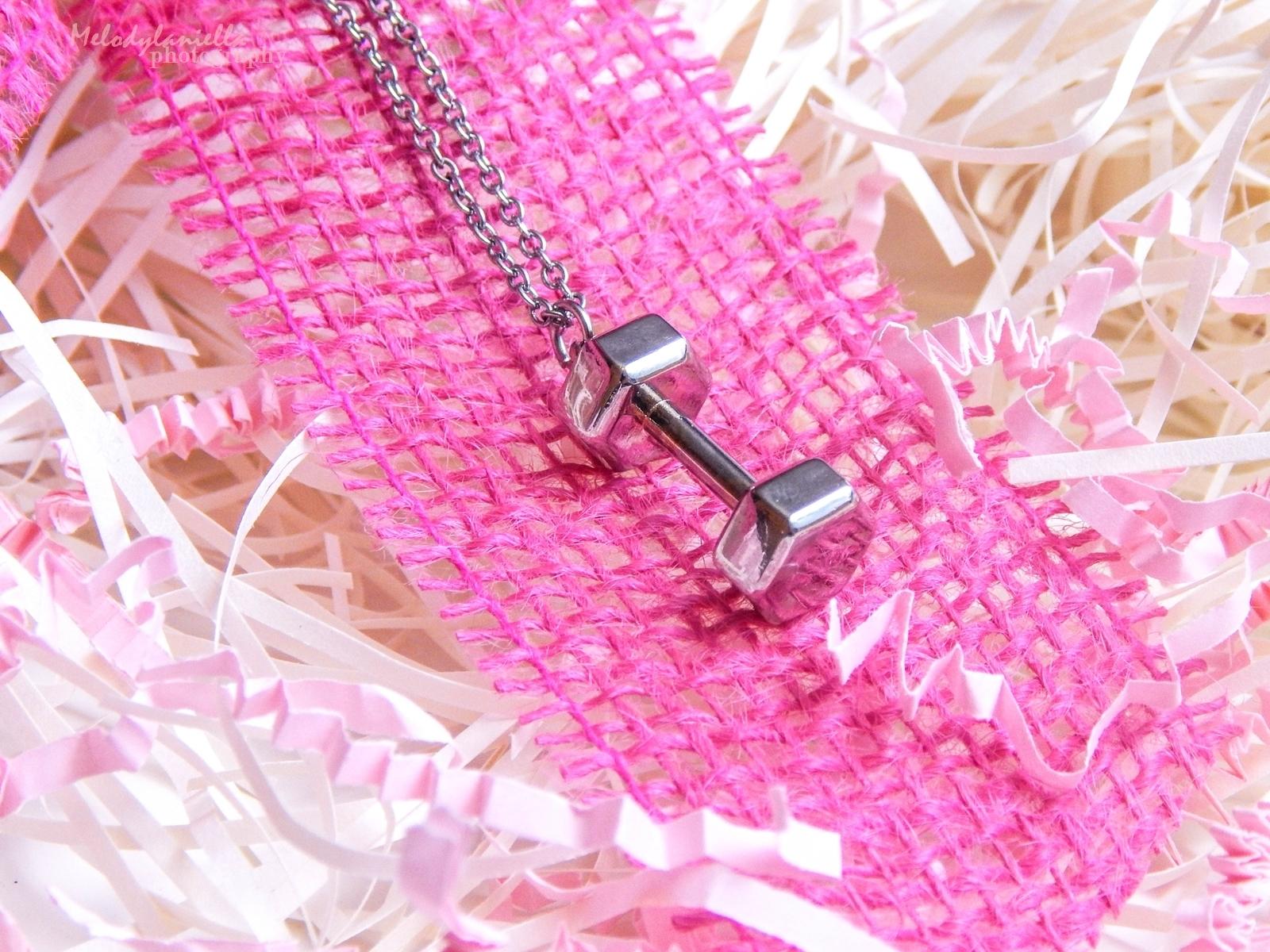 power jewels dla aktywnych kobiet bizuteria srebrna ciężarki hantle melodylaniella