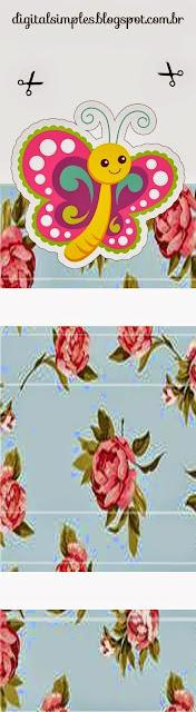 Mariposa: Envoltorios Gratis para Paquetes de Chicles o Golosinas.