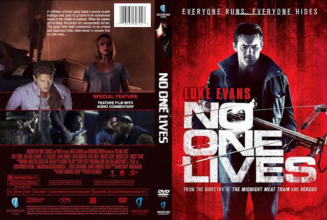 Capa DVD No One Lives (Ninguém Sobrevive)