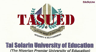 Apply: Tai Solarin University of Education TASUED Part-Time Admission