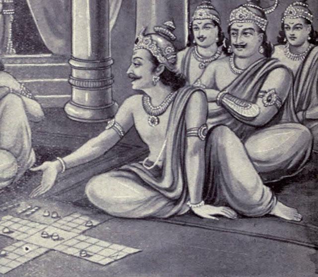 Shakuni in Mahabharat