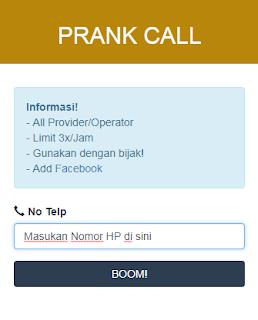 Tutorial Mengirim Prank Call/Panggilan Palsu Terbaru 1