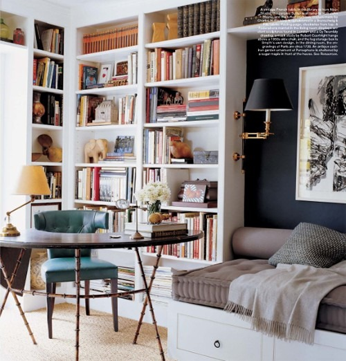 Library Study Room Ideas: Halcyon Style: Home Libraries