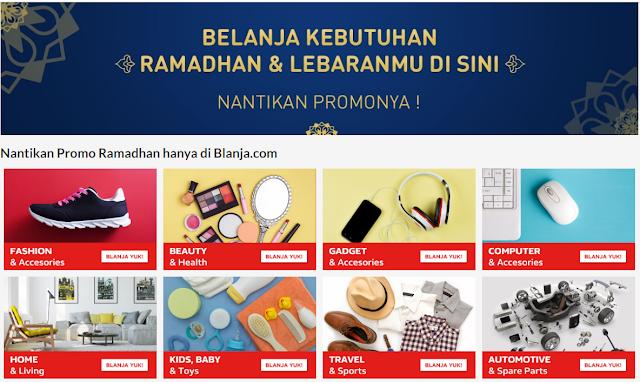 Pesta Diskon Lebaran di Ramadhan Sale Blanja.com