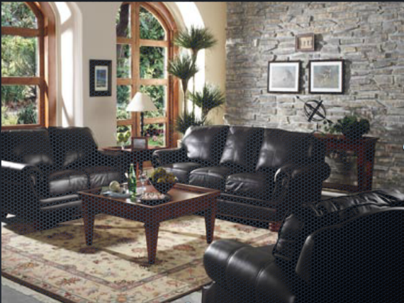 10 Living Room Ideas With Black Sofa Remodels & Photos