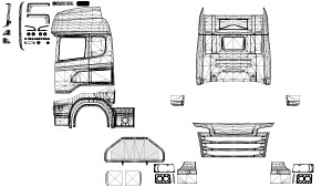 Truck Templates Pack 2.0