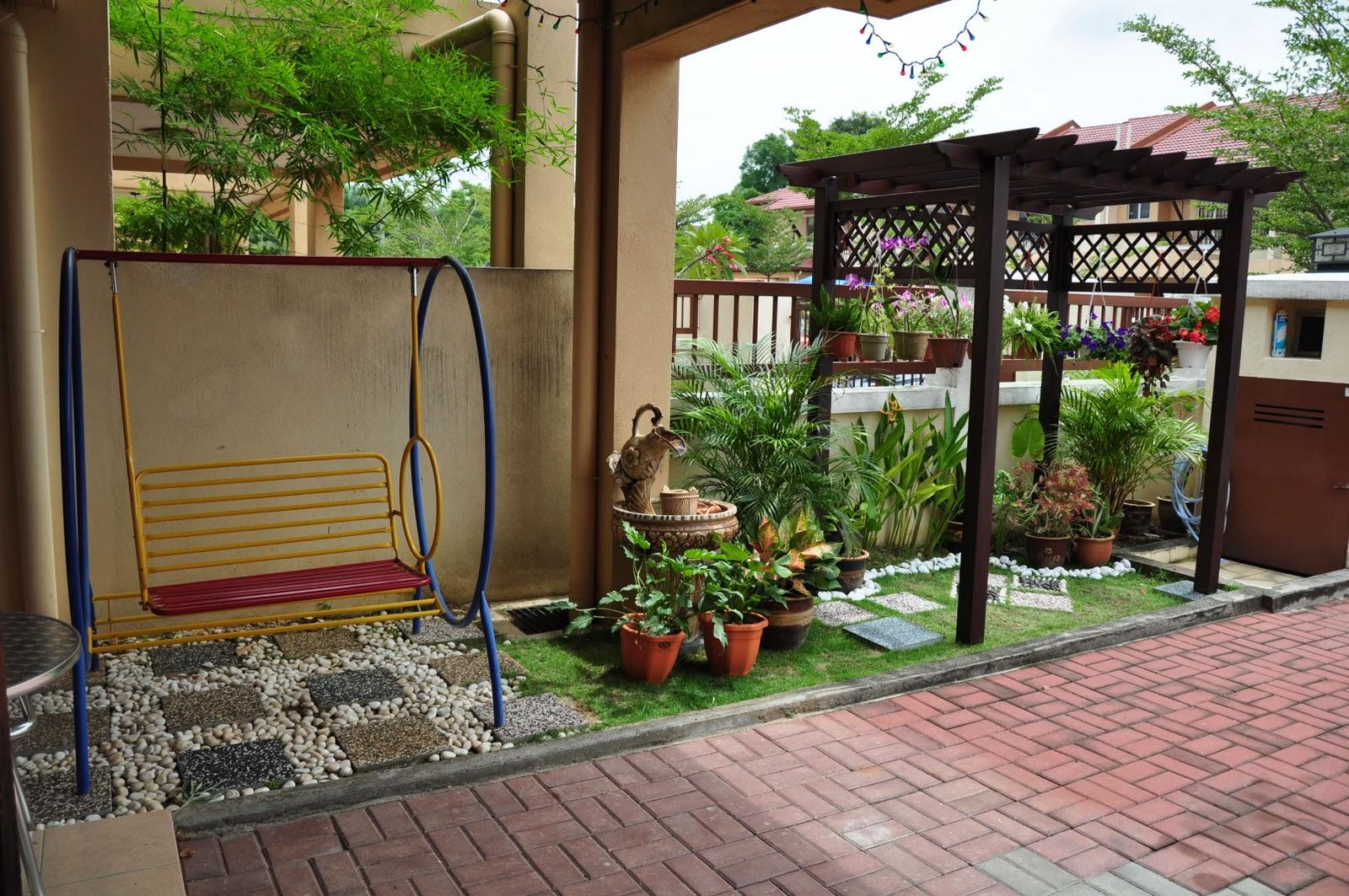 Taman Pekarangan Rumah Minimalis Destaman