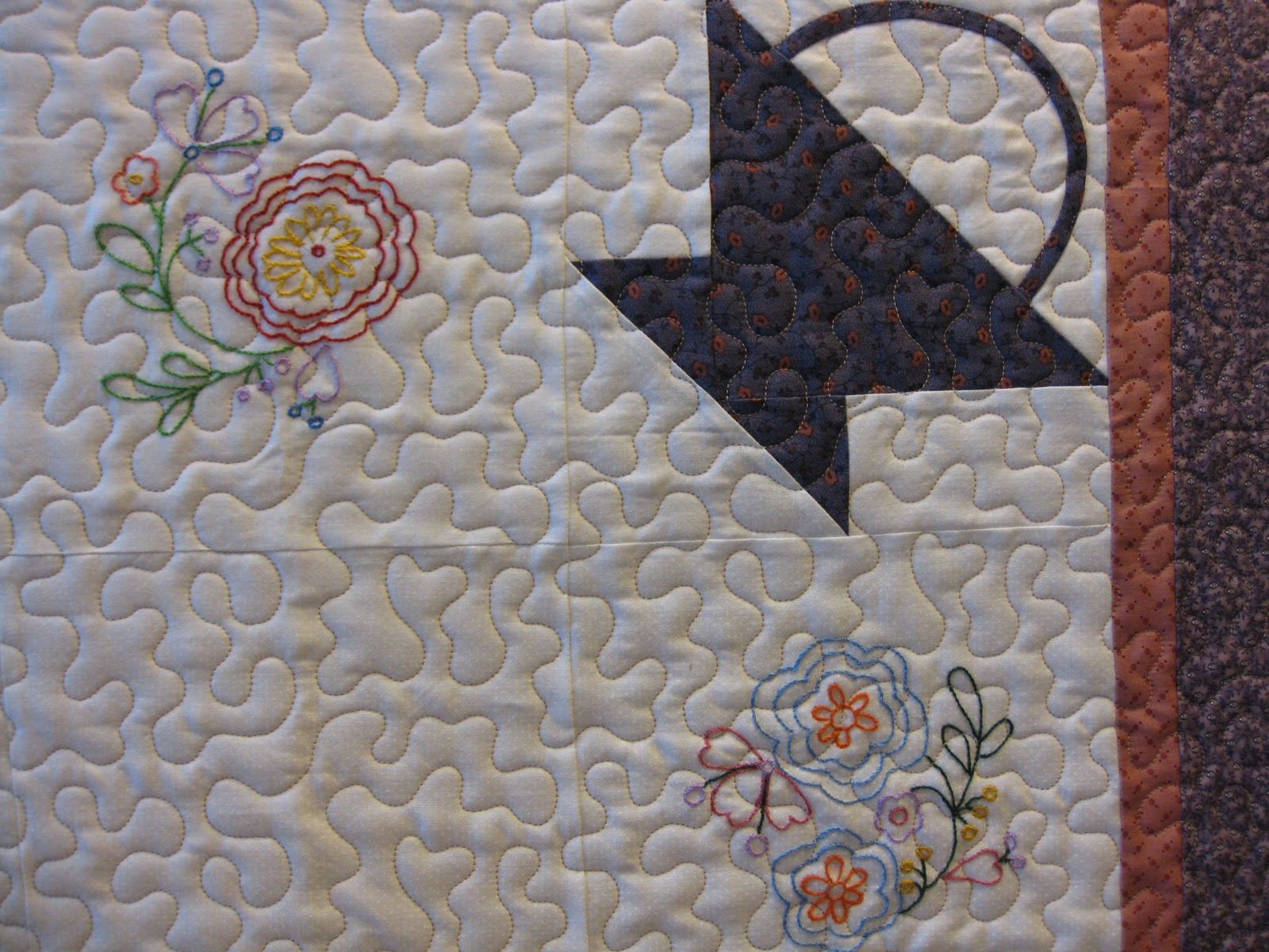 Millie S Quilting Chinese Coin Quilt And Stipple Quilting