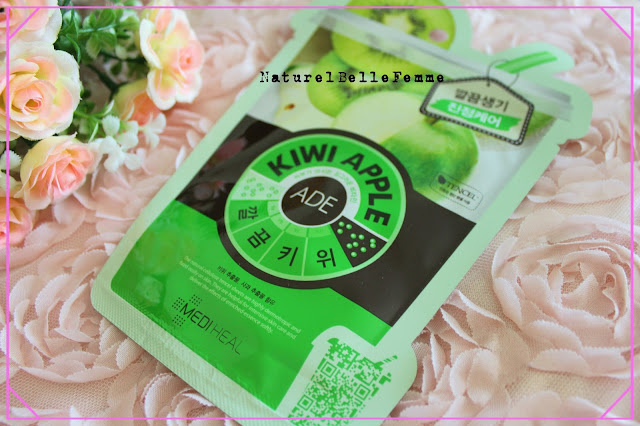 Mediheal kiwi apple mask