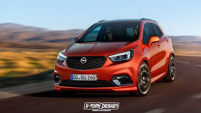 rendering opel mokka x opc myauto24 das autoblog im. Black Bedroom Furniture Sets. Home Design Ideas
