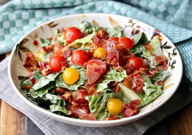 B.L.T. Style Salad