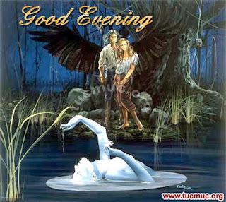 صور مساء الخير 2013 للفيس بوك - بطاقات خلفيات مسائية Good Evening