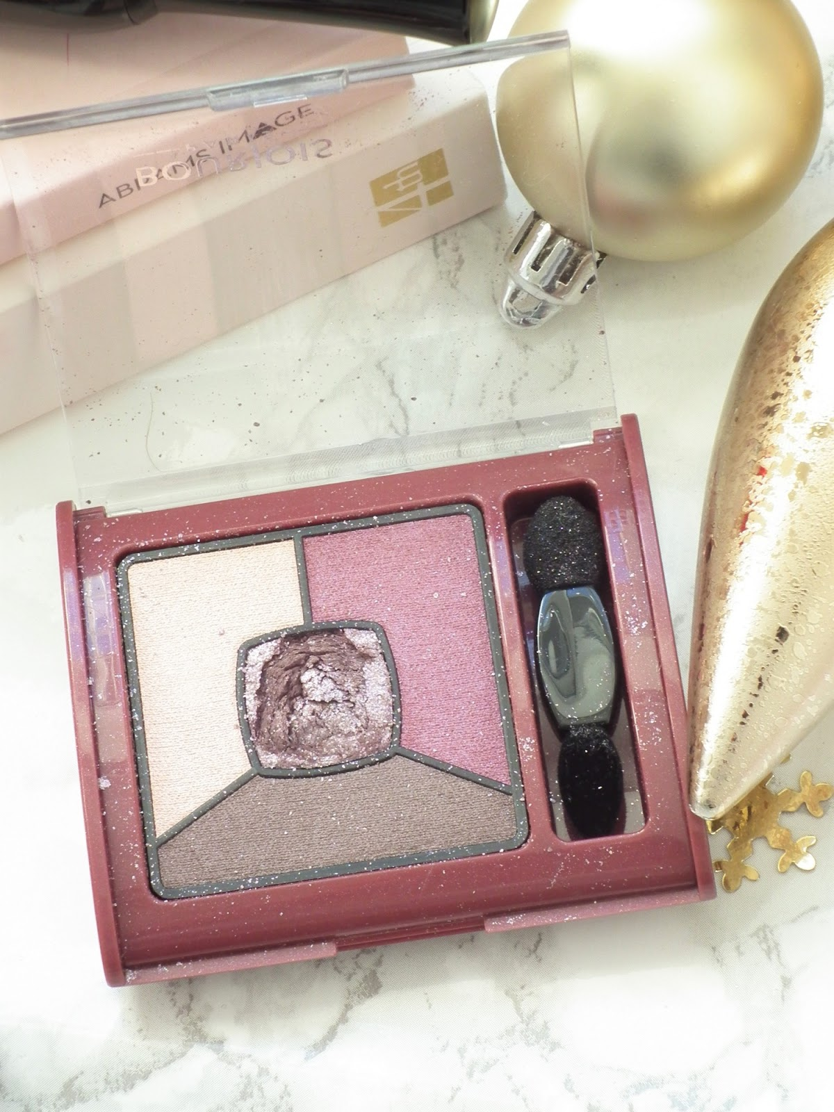 New In Makeup | The Bourjois Holiday Box Eyeshadow Quad