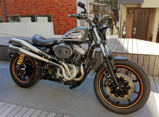 xl1200s sportster sport side right